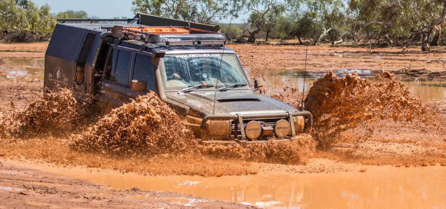 Pas de problème gros problème 4X4 autocollant Land Rover off road